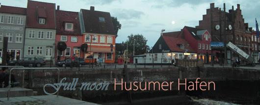 Abendstimmung am Husumer Hafen
