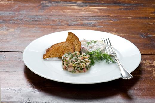 Rezept Matjes-Tatar und Matjes-Hausfrauenart - nordfriesische Küche