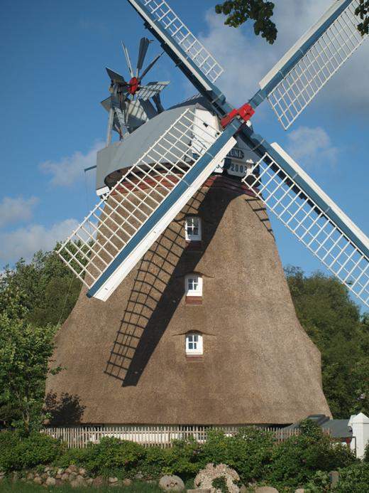 Alte Mühle in Nordfriesland