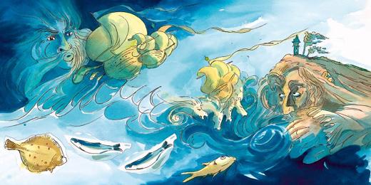 Titelbild des Buches Meeresmärchen