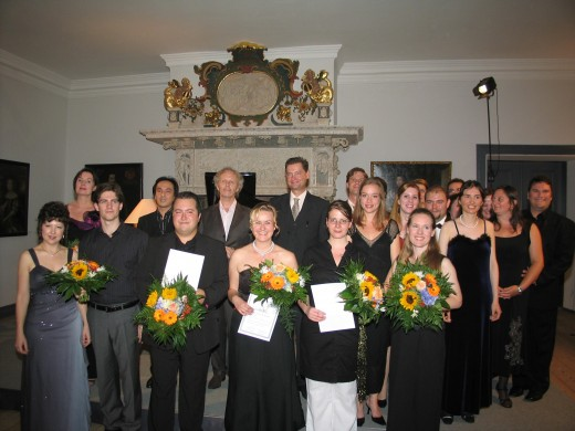 Meisterkurs für Liedgestaltung im Schloss vor Husum