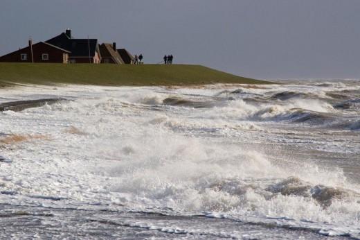 Sturmflut in Nordfriesland