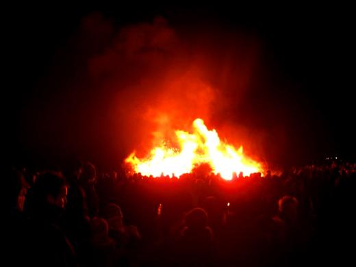 21.2.2012 Biikebrennen