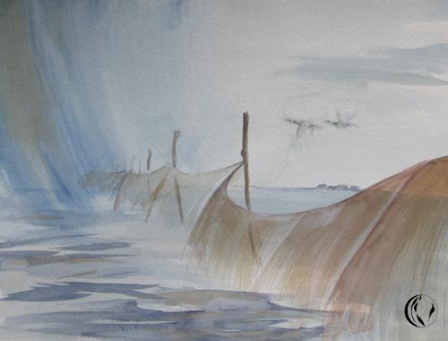 Malkurse an der Nordsee