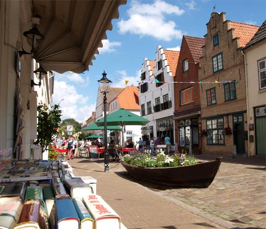 Einkaufsbummel in Nordfriesland