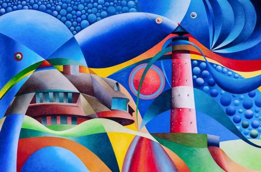 Kunstausstellung in Nordfriesland