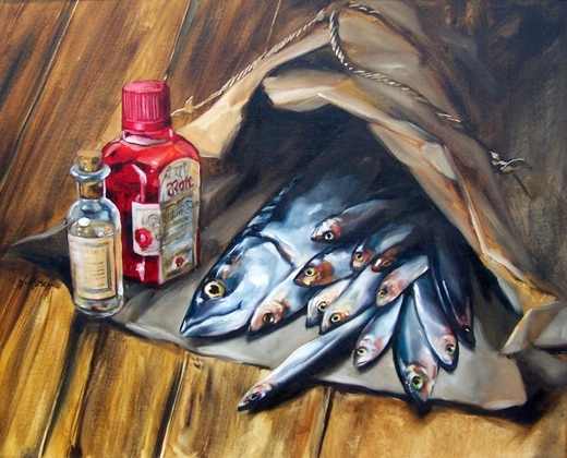 Tintenfisch 300