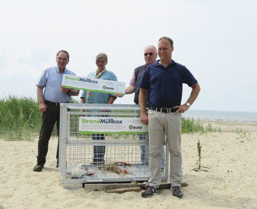 Strandmuellboxen foehr gruppe