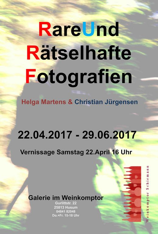 Plakat Ausstellung April bis Juni 2017