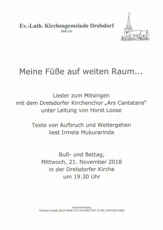 Drelsdorf Plakat